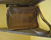 SALE Vintage Leather Crossbody Bag