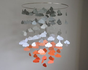 Cloud Mobile (Large) // Nursery Mobile - Choose Your Colors