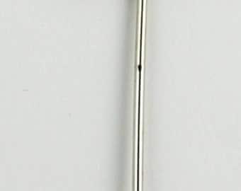 Vintage Stick Pin Initial Pin Flat Letter Stick Pin Hat Pin Vintage Pin Silver Tone