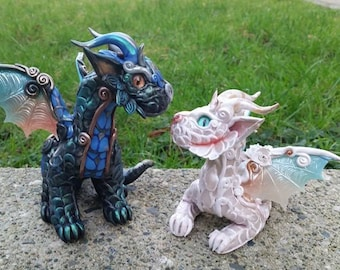 Custom Baby Dragon Sculpture Standing
