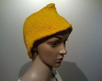 Funny yellow Cap