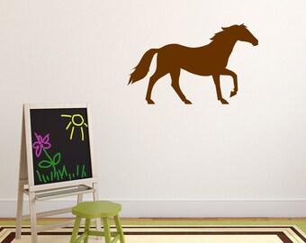 Horse Wall Sticker, Horse Wall Decal, Farm Animal Wall Art, Farmyard Wall  Transfers Part 48