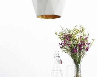 Concrete hanging lamp [T3] lamp gold rare designer lamp