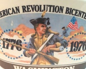1976 American Revolution Bicentennial  Edition Kentucky Bourbon Decanter by Early Times