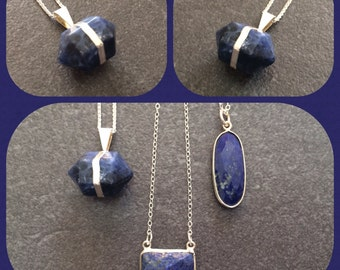 Double crystal prism - sodalite