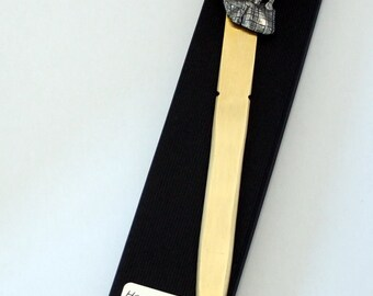 Bagpipes Letter Opener (paper knife), Handmade, Gift Boxed (h)