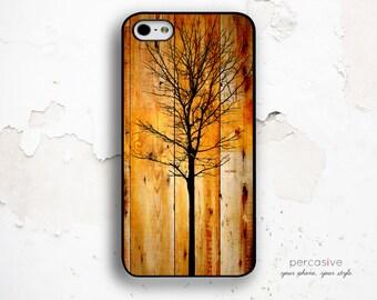 iPhone 6 Case Bare Tree - iPhone 6 Plus Case, iPhone 4 Case, iPhone 5s Case, iPhone 5C Case, Autumn iPhone 6 Wood Case Tree :0268