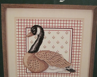 Cross Stitch Pattern Leaflet - Canada Goose - by Johnson Creative Arts - designed by Michael A. LeClair