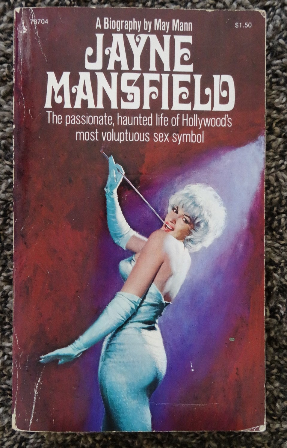 Jayne Mansfield By May Mann By Fishvintagegoods On Etsy