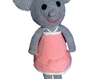 Knitted Mouse Dolls
