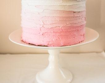 Faux Cake / Dummy Cake / Fake Cake / Cake Smash Photoshoot prop - Pink Ombre Cake