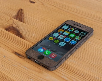 Wenge iPhone 6 / iPhone 6S Wrap - Real Wood iPhone 6 Case - Classic Style