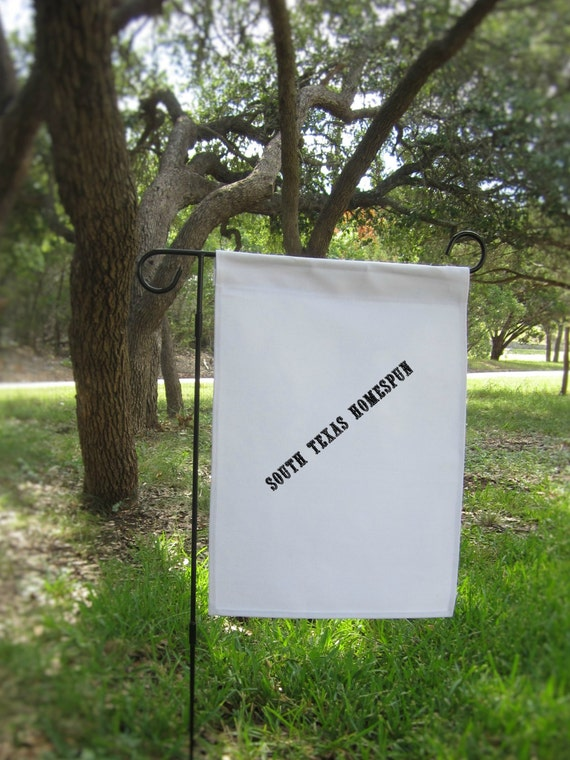 Items similar to 20 White Canvas Garden Flag Blanks ready to