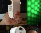SALE! 3D printed ikyaudio soundspheres - with amp white