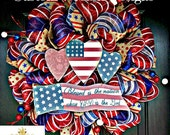 Patriotic Whismical Wreath