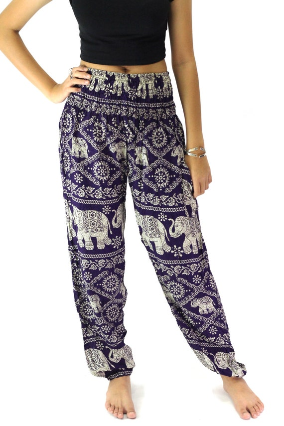 Boho Clothing Plus Size Pants Plus size pants hippie pants