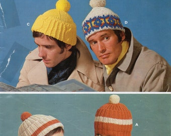 Items similar to Vintage Mad mens knitting patterns 1950s ...