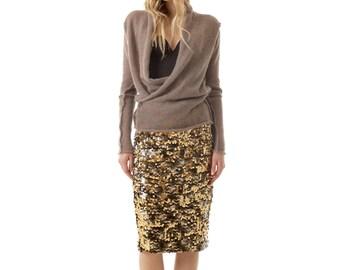 Cross front cardigan JULIETTE - mohair - women's cardigan