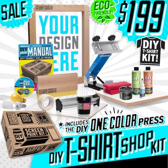 Diy print shop original t shirt screen by thediyprintshop for Diy tee shirt printing