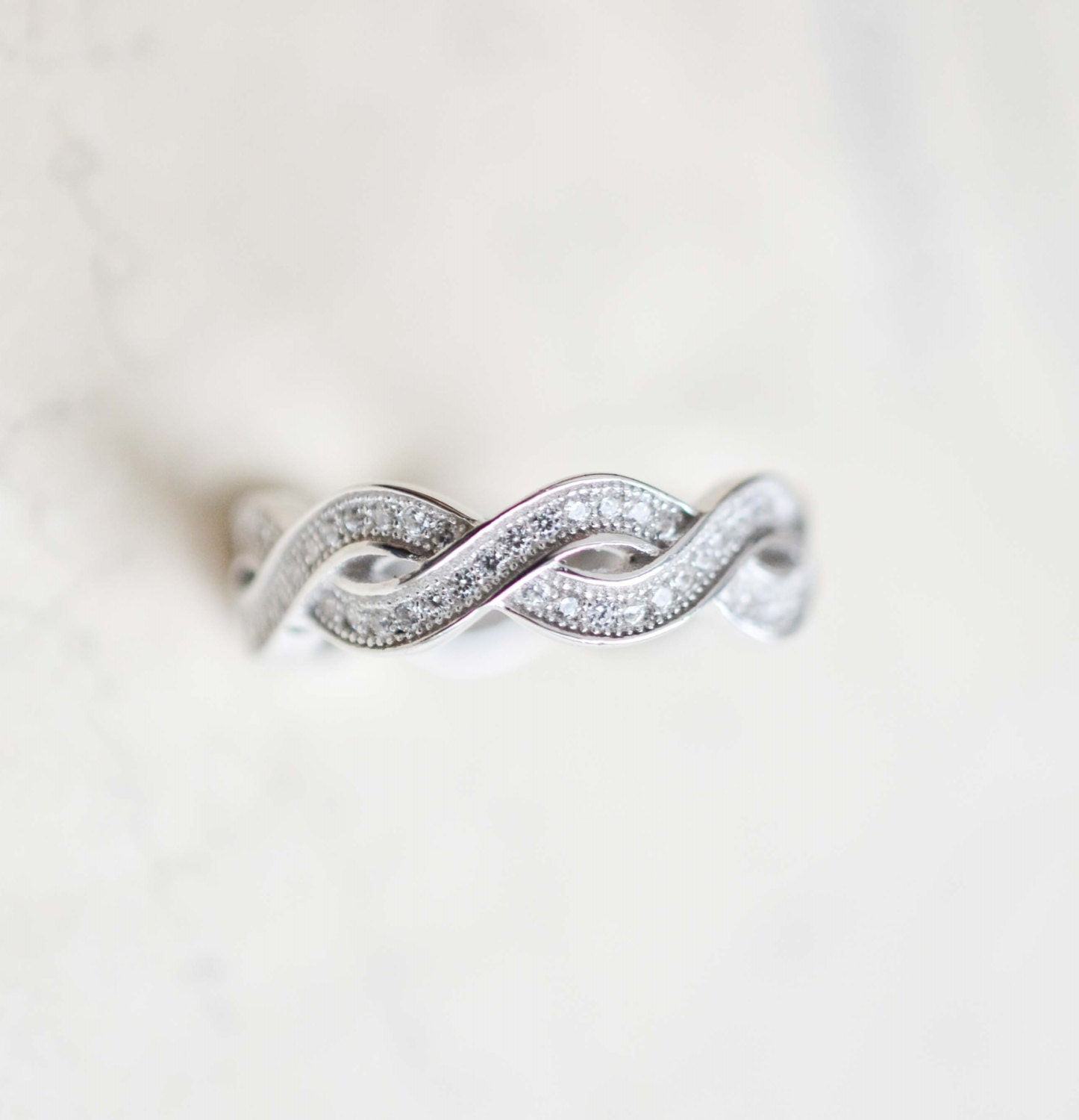 sterling silver infinity ring infinity knot ring best