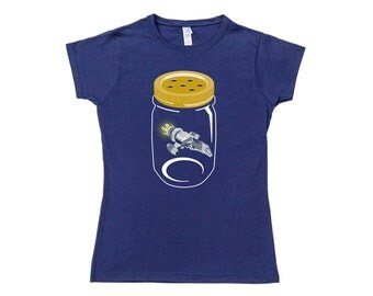 Womens Firefly In A Jar T-Shirt