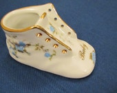 Adorable Porcelain Baby Shoe