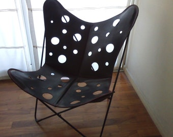 Cowhiderugsleather - RAW Leather Argentina - bkf leather chair