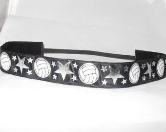 No slip VOLLEYBALL headband! They just don't slip!