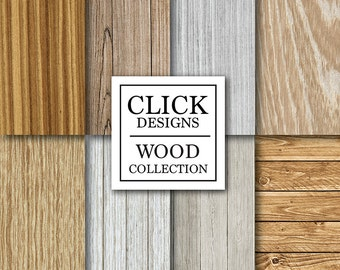 """Wood Digital Paper: """"NATURAL WOOD"""" white, natural distressed wood rustic backgrounds for scrapbooking, photography backdrops, invites, carts"""