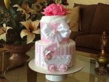 baby bump cake instructions