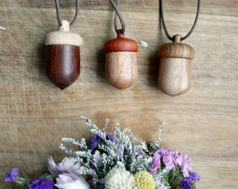 Taiwanese - MUYU Design wooden necklace