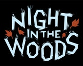 size LARGE Night In The Woods logo