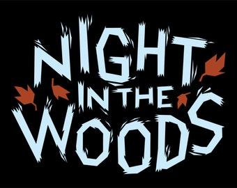 Night In The Woods logo shirt