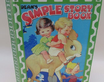 Vintage Children's Book - Dean's Simple Story Book 1967