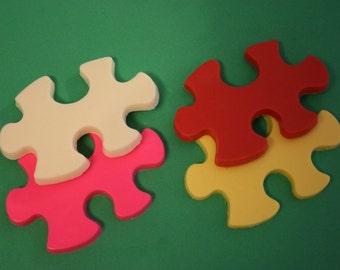 20 Chocolate PUZZLE Piece Party Favors - Autism awareness