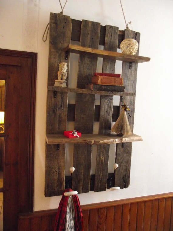 shelf wearing coat furnished of entry by latelierrecup on etsy. Black Bedroom Furniture Sets. Home Design Ideas
