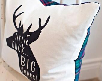 Little Buck Pillow