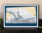 HMS Dreadnought Great War...