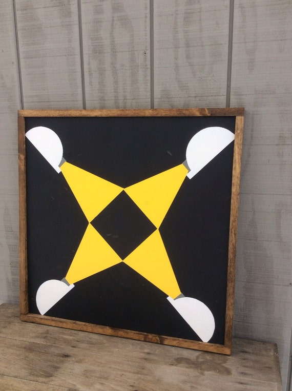 Coal Miners Sign Barn Quilt By Sophisticatedhilbily On Etsy