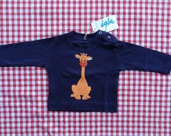 Graphic shirt with giraffe, kid animal shirt, hipster kids, Kids giraffe shirt, trendy giraffe shirt, baby clothes, giraffe shirt
