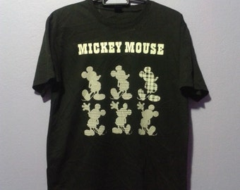 Vintage 90s mickey mouse disney jersey tee shirt