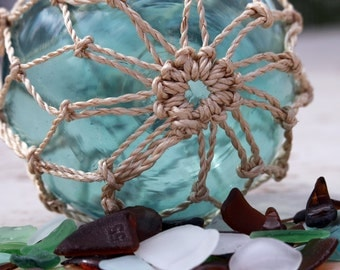 Sea glass with a Fisherman's ball photo