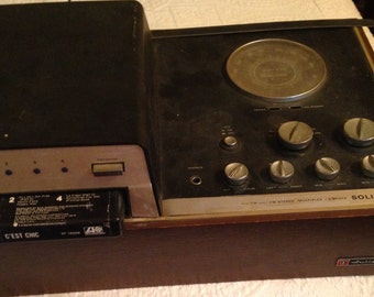 1970's 8-track tape player