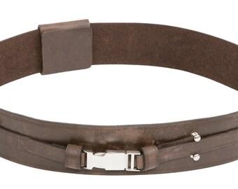 Star Wars Anakin Skywalker Brown Replica Leather Jedi Belt - JR 1404