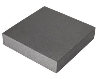 "Steel Bench Block Hammer Stamp Jewelry 4"" x 4"" x 3/4""  Work Surface Hardened Metal Anvil Tool 4"" Square 3/4"" Thick FORM-0042"