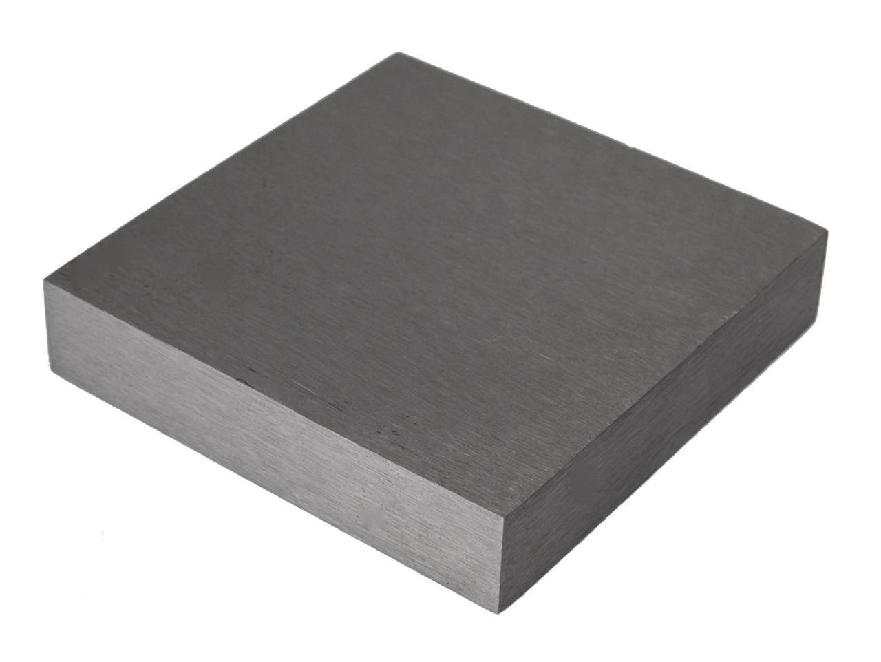 Steel Bench Block Hammer Stamp Jewelry 4 X 4 X