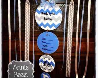 Hospital Birth Announcement Door Hanger