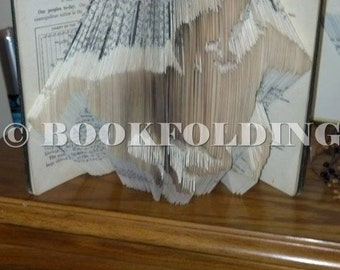 horse and jockey book folding pattern