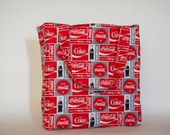 Retro Coca Cola Tote Bag