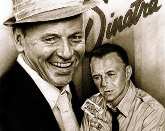 Frank Sinatra - A3 Size Poster Print